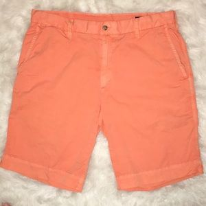 Orange Polo shorts